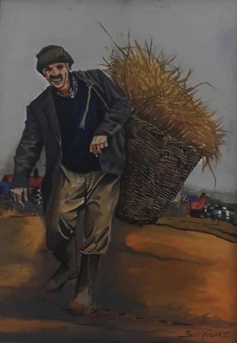 Bekir Malgaz-Teknik: Yağlı Boya - Ölçü: 70x100 cm - Fiyat: 5.310 TL