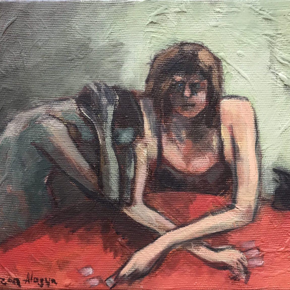 Feyzan Alasya - Teknik : Tuval Üzeri Yağlı Boya Ölçü: 29 x 23 cm Fiyat : 1.180 TL