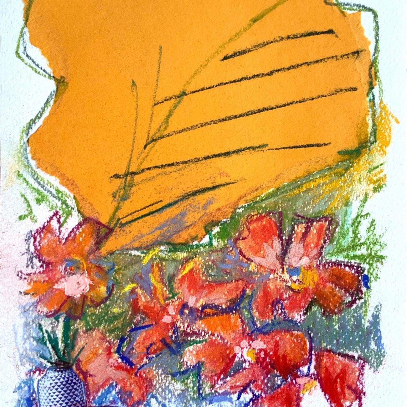 PEMBE KOLAJ 7 Teknik: Kağıt Üzeri Toz Pastel ve Kolaj Ölçü:17x24 cm. (29x36 cm. çerçeveli) Fiyat : 885 TL