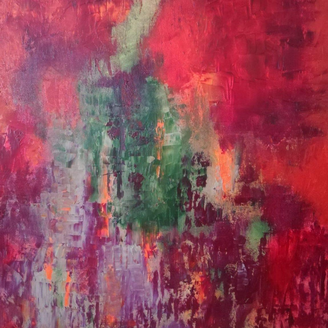 Ayda TAVİL - Teknik: Tuval Üzeri Yağlı Boya Ölçü: 80 x 100 cm Fiyat : 29.500 TL