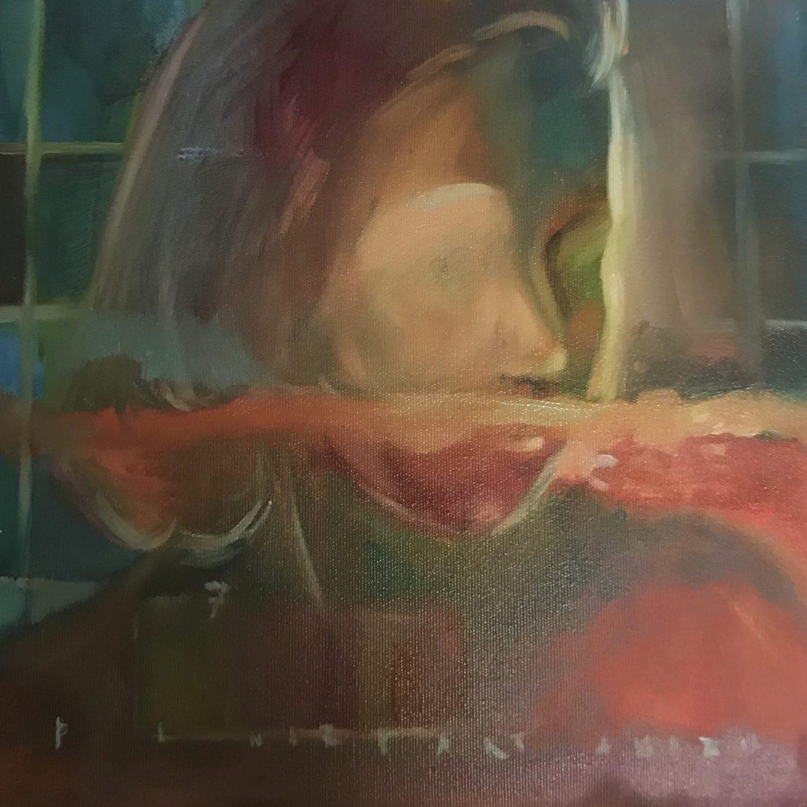 Pınar Partanaz - Teknik: Tuval Üzeri Yağlı Boya Ölçü: 45 x 45 cm