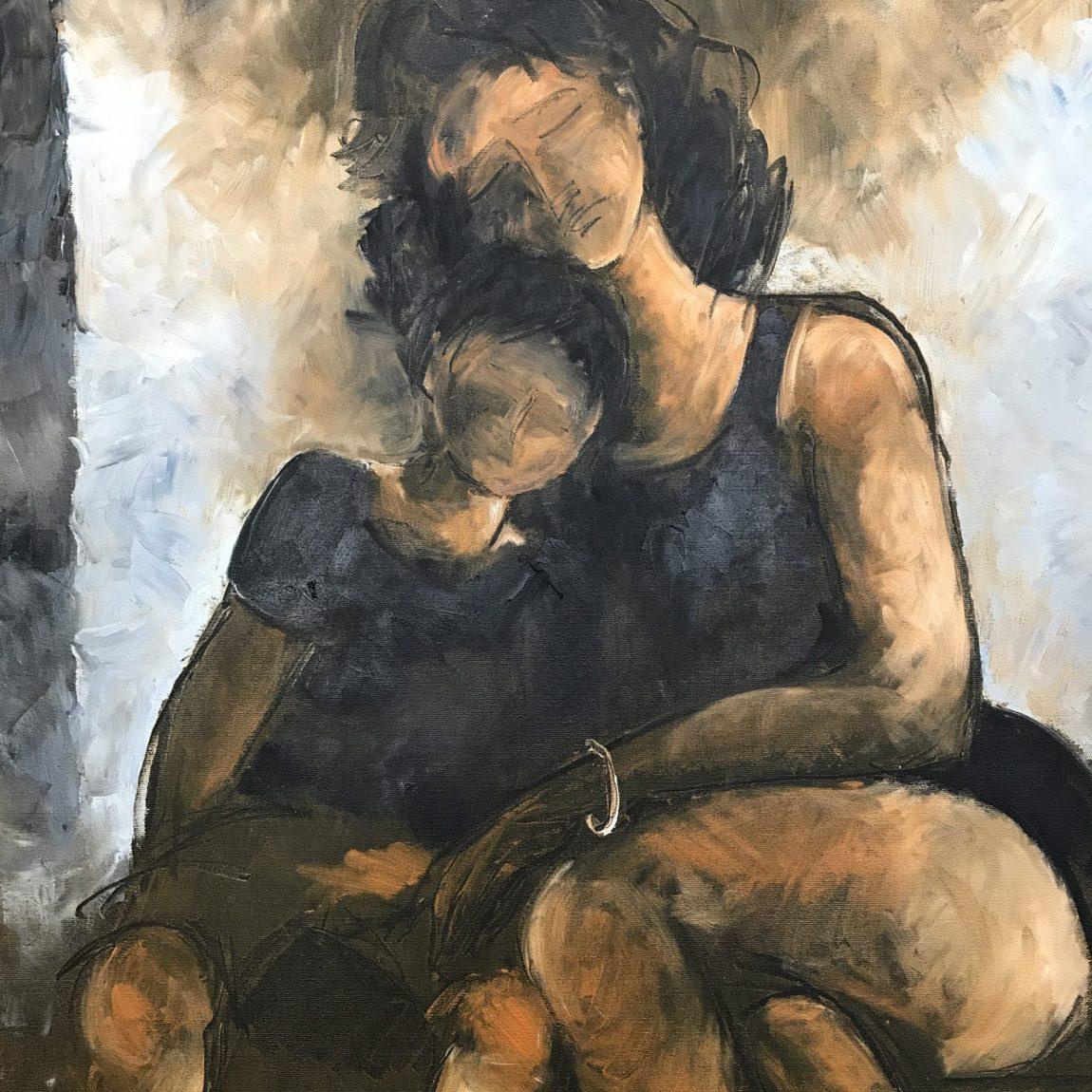 Nihal Şenlier - Teknik: Tuval Üzeri Yağlı Boya Ölçü: 83 x 65  cm Fiyat : 9.450 TL