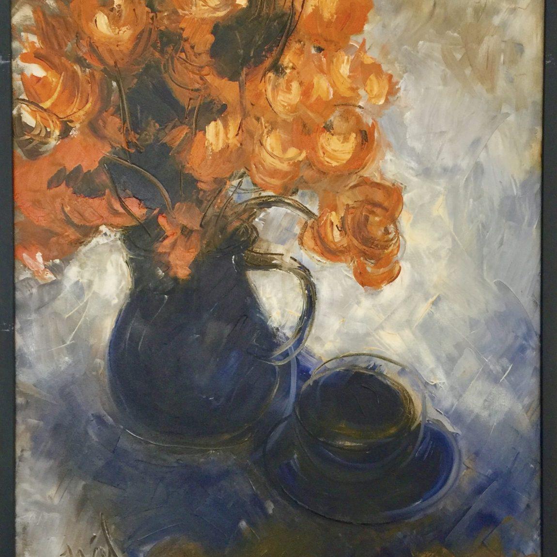Sanatçı : Nihal Şenlier  - Teknik: T.Ü.Yağlı Boya Ölçü: 80 x 60 cm -  Fiyat : 10.065 TL
