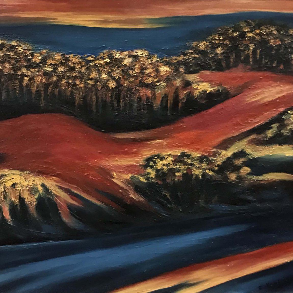 ZUHAL KIVILCIM Teknik: Tuval Üzeri Yağlı Boya Ölçü: 60 x 80 cm