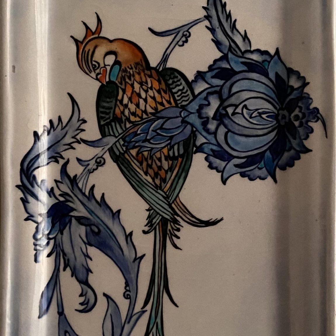 Sanatçı : Linda Kumdagezer   - Eser Adı: Umut - Teknik: Çini - Ölçü: 18 x 35 cm - Fiyat : 1.180 TL