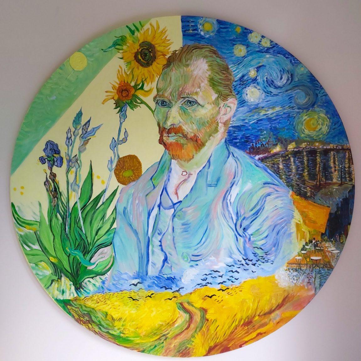 Sanatçı : İpek Chi   - Eser Adı: Vincent  Teknik: Tuval Ü.Yağlı Boya Teknik- Ölçü: 80 x 80 cm - Fiyat : 3.540  TL