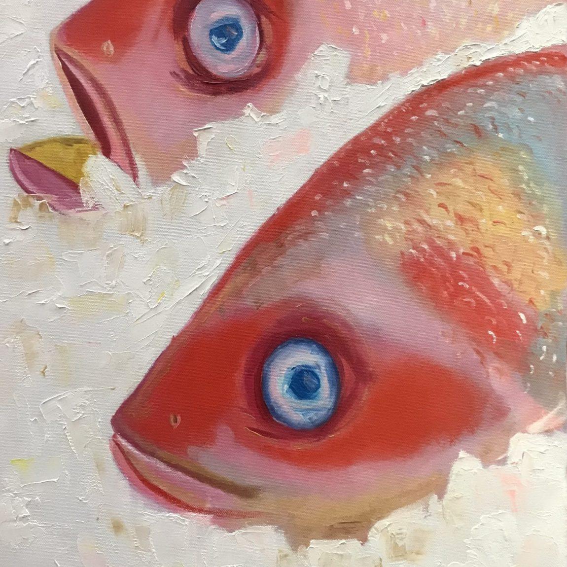 Kristine Veisa - Tuval Üzeri Yağlı Boya - Ölçü : 40 x 60 cm - Fiyat : 900 TL